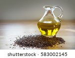 Flax Seeds And Linseed Oil In ...