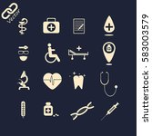 medical icons | Shutterstock .eps vector #583003579
