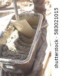 cement  | Shutterstock . vector #583021015