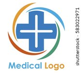 medical logo design | Shutterstock .eps vector #583022971