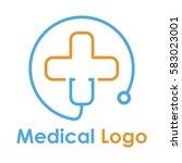 medical logo design   Shutterstock .eps vector #583023001
