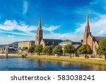 Cityscape Of Inverness ...