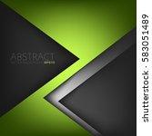green vector background with... | Shutterstock .eps vector #583051489