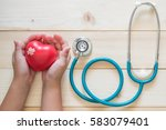 pediatric care and child... | Shutterstock . vector #583079401