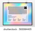 poster design. banner template. ... | Shutterstock .eps vector #583084405