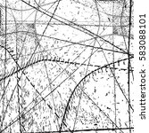 distress overlay web grid... | Shutterstock .eps vector #583088101