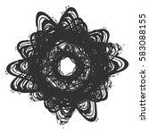 distressed bold postal stamp... | Shutterstock .eps vector #583088155