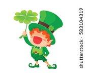 vector illustration of st.... | Shutterstock .eps vector #583104319