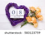 Holiday 8 March Background. Bi...