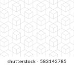 abstract geometric pattern with ... | Shutterstock .eps vector #583142785