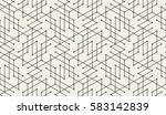 abstract geometric pattern with ... | Shutterstock .eps vector #583142839