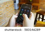 chiang mai thailand   february... | Shutterstock . vector #583146289