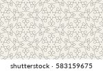 abstract geometric pattern with ... | Shutterstock .eps vector #583159675