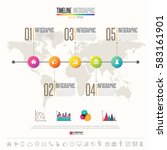 timeline infographics design...   Shutterstock .eps vector #583161901