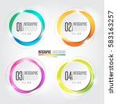 infographics design element... | Shutterstock .eps vector #583163257