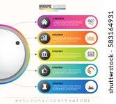 timeline infographics design...   Shutterstock .eps vector #583164931