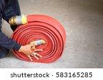 fire hose | Shutterstock . vector #583165285