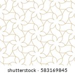 seamless linear pattern with... | Shutterstock .eps vector #583169845