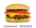 Cheeseburger   Stock Image...