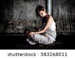 drug abuse concept.  overdose... | Shutterstock . vector #583268011
