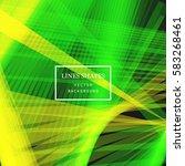 modern technology striped... | Shutterstock .eps vector #583268461