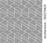 black and white pattern... | Shutterstock .eps vector #583270825