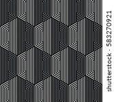 black and white pattern... | Shutterstock .eps vector #583270921
