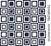 vector seamless pattern of... | Shutterstock .eps vector #583280431