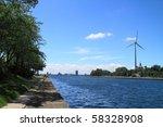 Windmill at Toronto - stock photo