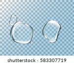 Bigger Water Drop Elements...