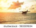 Summer Sunrise With Seaplane....