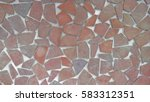a little piece of stone lined... | Shutterstock . vector #583312351