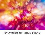 glittering christmas background.... | Shutterstock . vector #583314649