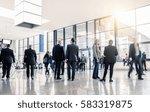unrecognizable business people... | Shutterstock . vector #583319875