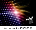 vector of abstract pattern and... | Shutterstock .eps vector #583332991