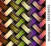 seamless background pattern.... | Shutterstock .eps vector #583338451