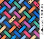 seamless background pattern.... | Shutterstock .eps vector #583338469