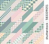 seamless background pattern.... | Shutterstock .eps vector #583339051