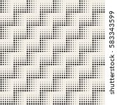 stylish minimalistic halftone... | Shutterstock .eps vector #583343599