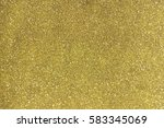 gold glitter with selective...   Shutterstock . vector #583345069