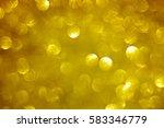 glittery gold christmas...   Shutterstock . vector #583346779