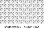 black and white ornament for... | Shutterstock . vector #583347565