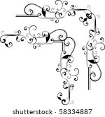vector design elements | Shutterstock .eps vector #58334887