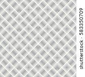 vector seamless pattern.... | Shutterstock .eps vector #583350709