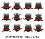 coat of arms. vector... | Shutterstock .eps vector #58335769