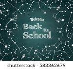vector back to school green...   Shutterstock .eps vector #583362679