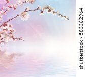 abstract seasonal spring floral ...   Shutterstock . vector #583362964