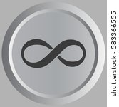 limitless sign icon. infinity