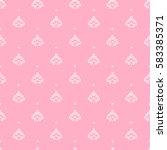 gentle wedding seamless pattern ... | Shutterstock .eps vector #583385371