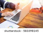engineer inspection in... | Shutterstock . vector #583398145